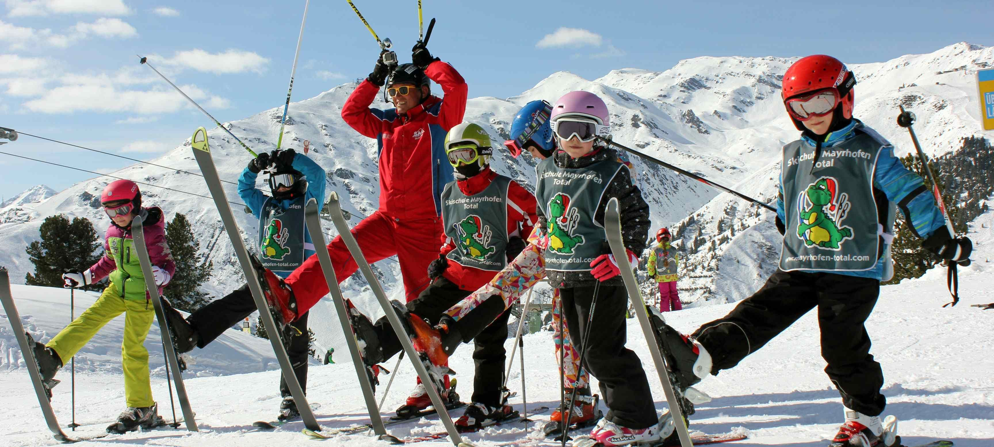 ski les for kinderen in Mayrhofen