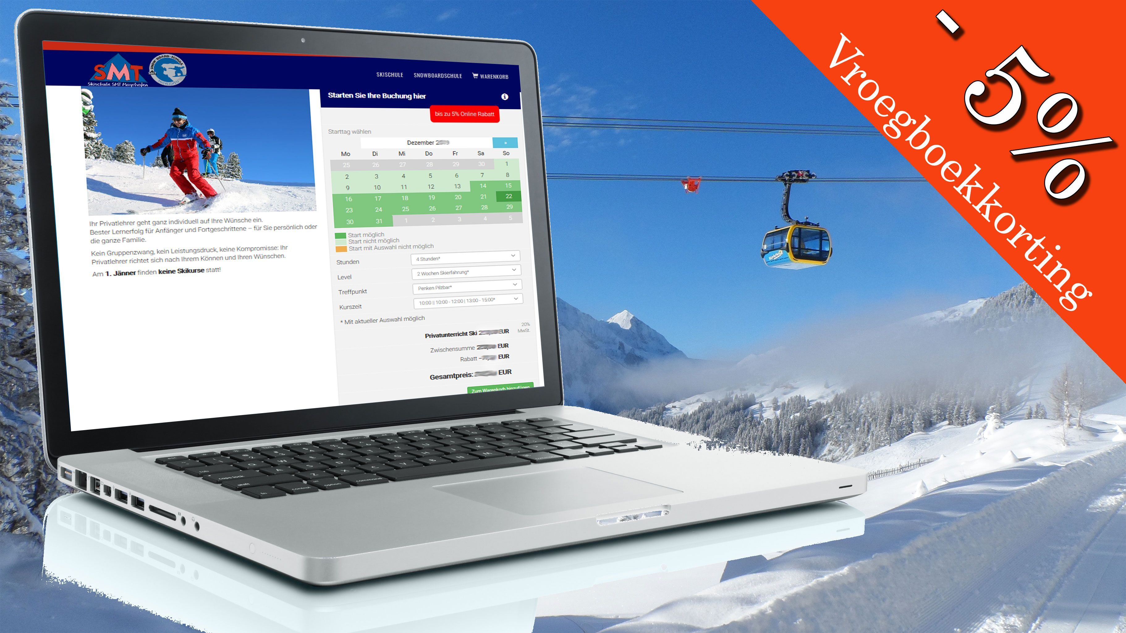 Ski school Onlineshop